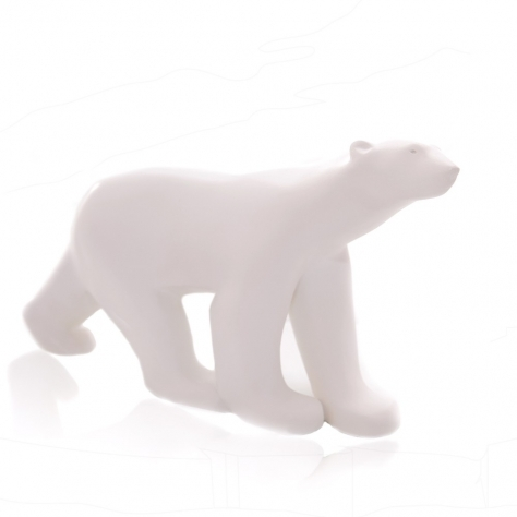 Ours Blanc - POMPON