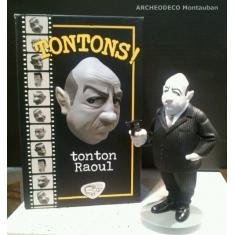 Figurine des tontons flingueurs. Bernard Blier