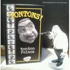 Figurine des tontons flingueurs. Francis Blanche